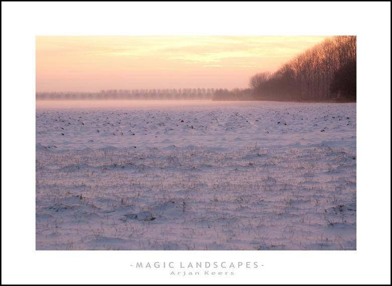 sneeuw IV - Ook npg een foto van 3 januarie en ongeveer dezelfde locatie als mijn vorige upload,<br /> groetjes Arjan