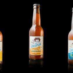Bierflesjes voor brouwerij St.Crispijn
