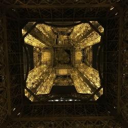 Under the Eiffeltower