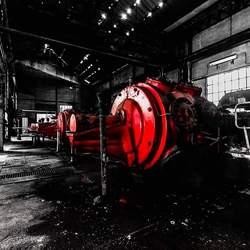 Verlaten industriegebouw