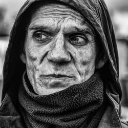 Straatkrantverkoper Rene