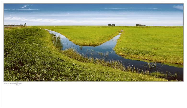 Marken-10 - Mijn vlakke land...J.Brell<br /> <br /> Fred, gedaan als bij die andere,wat een samenwerking.<br /> Twijfel nog of het stukje dijk eraf