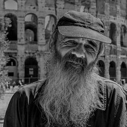 Dakloze in Rome
