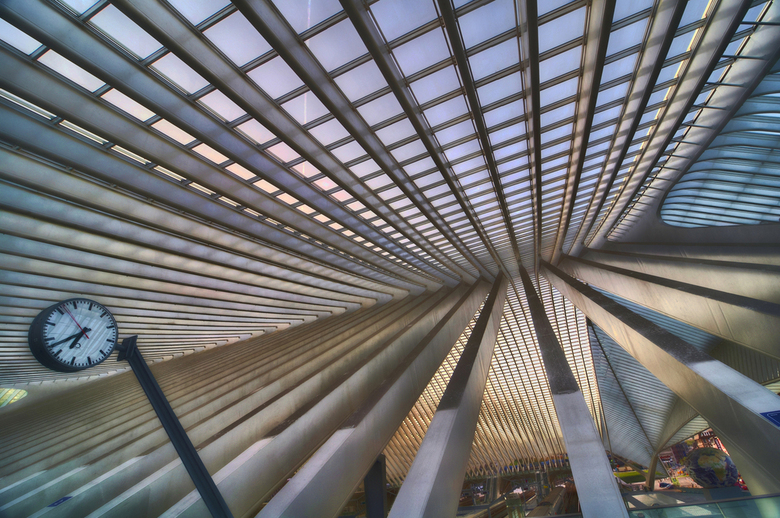 Guillemins station Luik