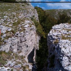 Boven op de Col de Rousset,Frankrijk