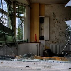 -Urbex- Huisje Groningen -Hdr/Tonemapping-