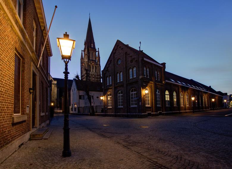 Sittard - Kloosterplein - Kapittelstraat - Petruskerk - Sittard - Kloosterplein - Kapittelstraat - Petruskerk