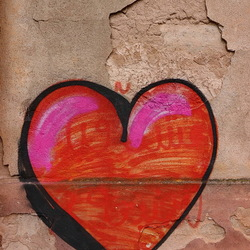 Muurschildering, graffiti.