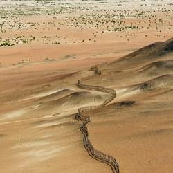 hek in de woestijn