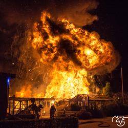 explosive gas