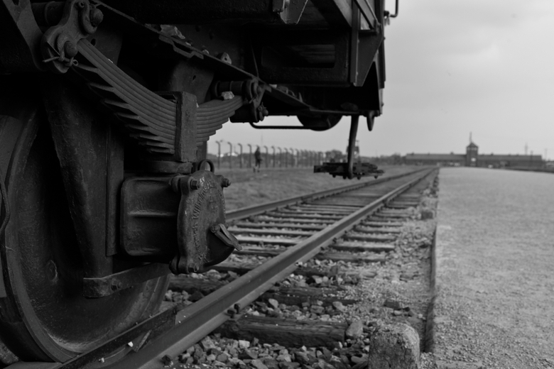Don't forgot what happened - I took this picture during my trip at Poland last year. This is a train at Auschwitz Birkenau in Poland. 6.000.000 people