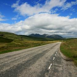 Scotlands remote  road