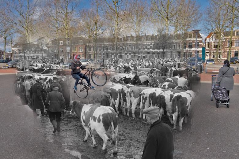 """Beestenmarkt Deventer, onontdekt verleden - Een foto uit mijn fotografie project """"Stille getuigen"""", waarbij de gebouwen stille getuigen zijn"""