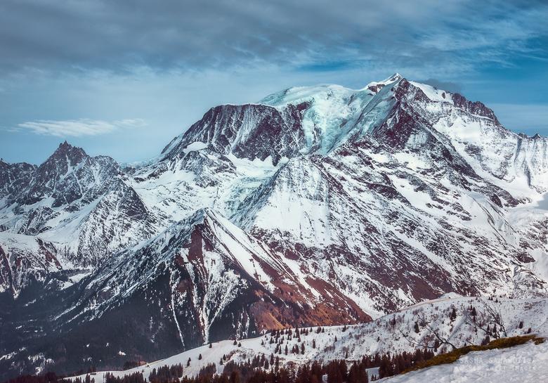 Glacier on the top