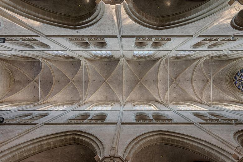 St.Willebrordus kerk - Het plafond van de St.Willebrordus kerk te Hulst.