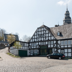 Sauerland vakwerk huizen