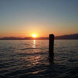 nog een keer de zonsondergang