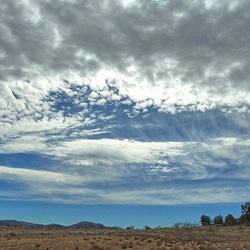 Wolkenlucht...