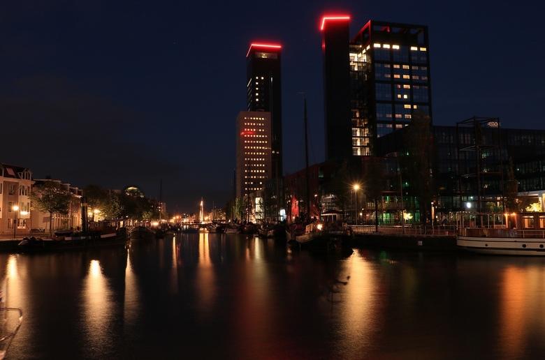 Leeuwarden....... - bij nacht........na de reuzen nog even Leeuwarden in geweest om wat foto's te maken.
