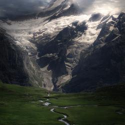 Veins of a mountain