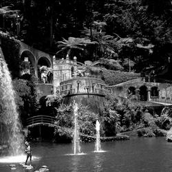 kasteeltuin in Monte, Madeira