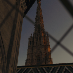Blik op Stephansdom