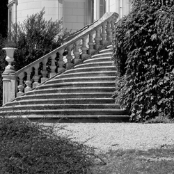 Stairway to chateau