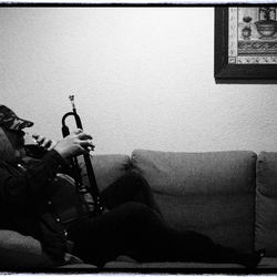 Me, my whiskey and my trumpet