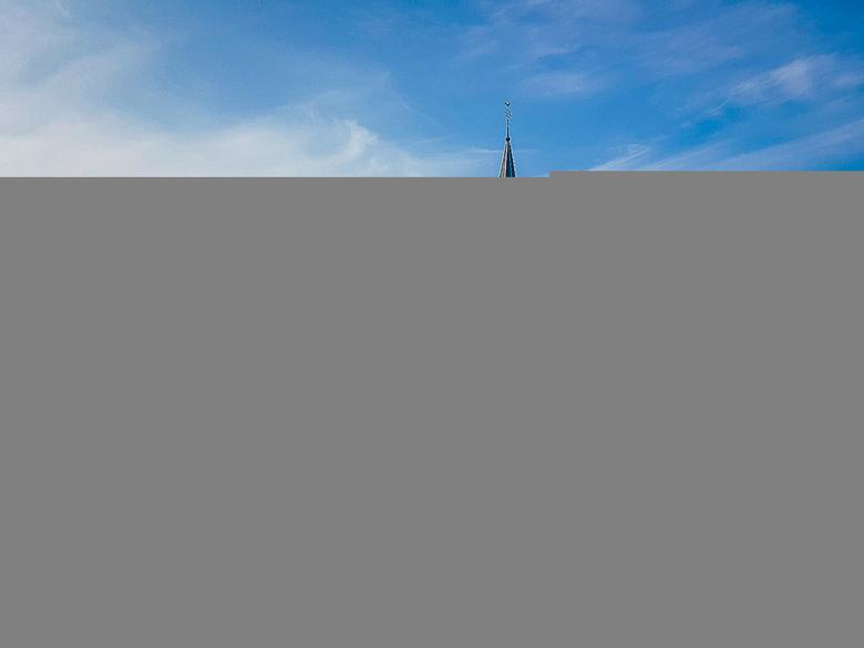 Kerkje van Oudendijk - Het kerkje van Oudendijk, nabij Hoorn. <br /> Genomen met mijn Samsung Galaxy S6 Edge+, vanaf de Beetskoogkade aan de overkant