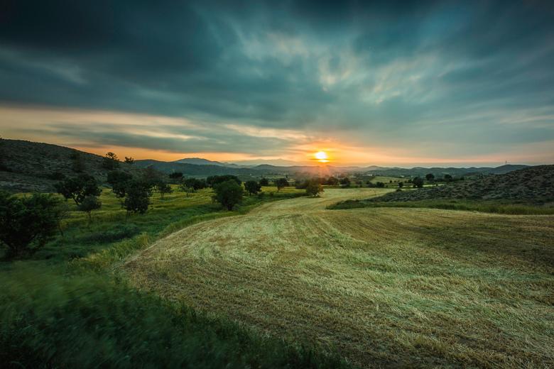 Landschap Cyprus  -