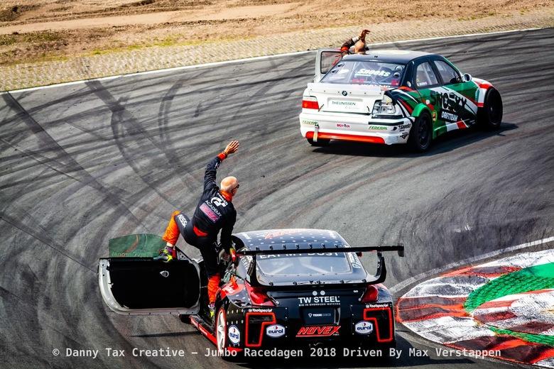 Tim Coronel - Circuit Zandvoort - Tim Coronel tijdens de Jumbo Race dagen 2018 Op Circuit Zandvoort. Red Bull Racing was aanwezig met 3 rijders (Danie
