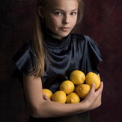 Nikki met citroenen