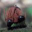 Slijmzwam met Darth vader beetle