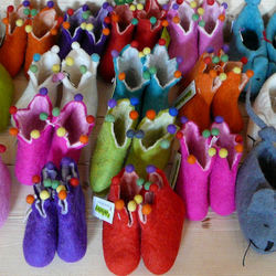 kleurexplosie voor kindervoetjes....