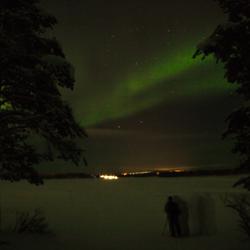Noorderlicht Fins Lapland