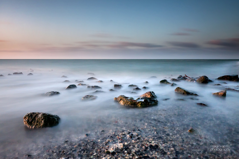 Gorishoek rocks color - Een long exposure gemaakt tijdens het stormachtige weer