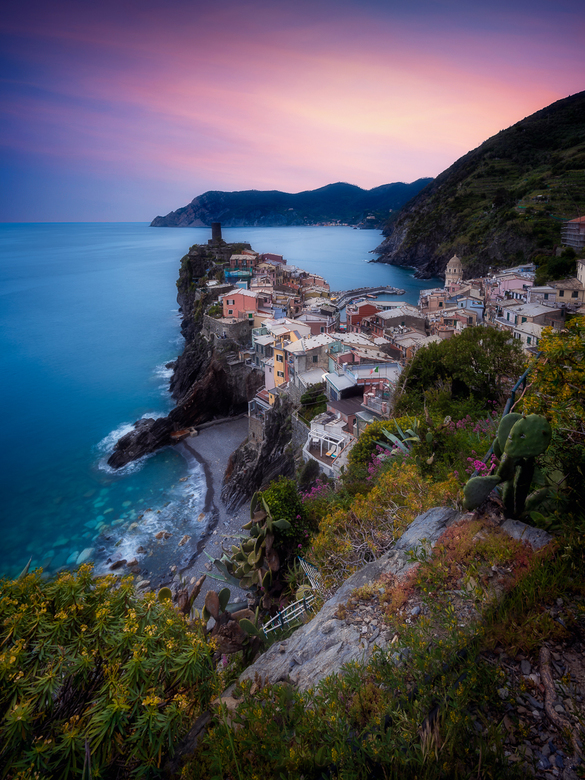 Vernazza at Sunset -
