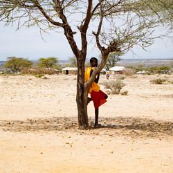 Masai dorp - Samburu National Reserve