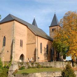 Luxemburg Echternach Peter and Paul church