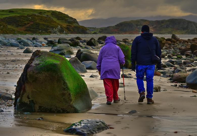 Rock of ages...North Wales(GB). - Hier in Noord Wales worden de mensen erg oud dankzij de gezonde lucht,geen fabrieken dus geen vervuiling,Gewoon de b