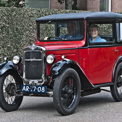 Austin Seven Saloon 1931 (7232)