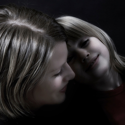 Liefde tussen moeder en dochter