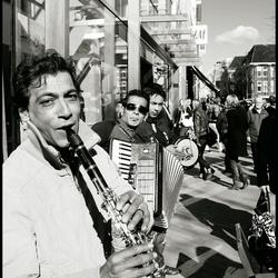Straatmuzikanten - Groningen