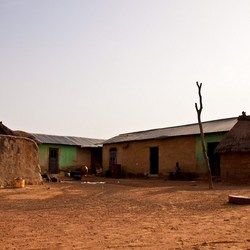 Ghanese compound.....