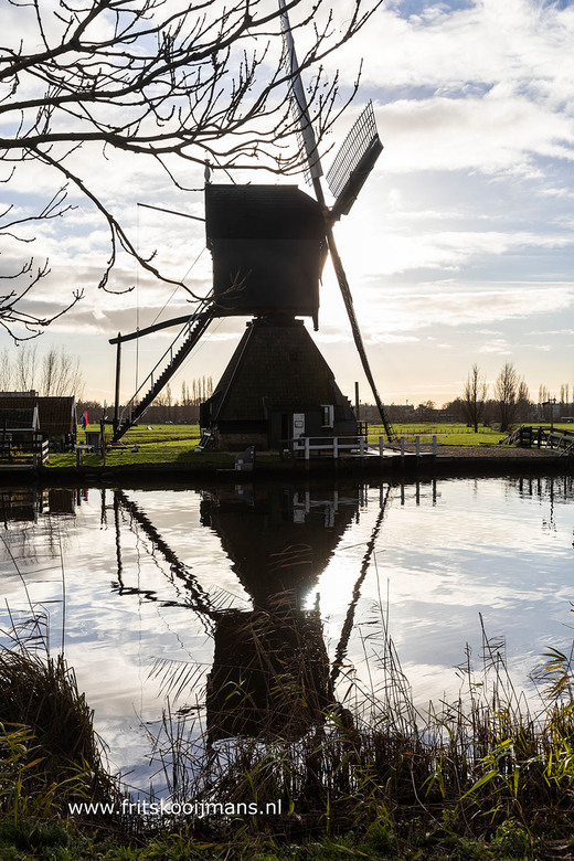Molen bij Kinderdijk - 20181211 3422 Molen bij Kinderdijk