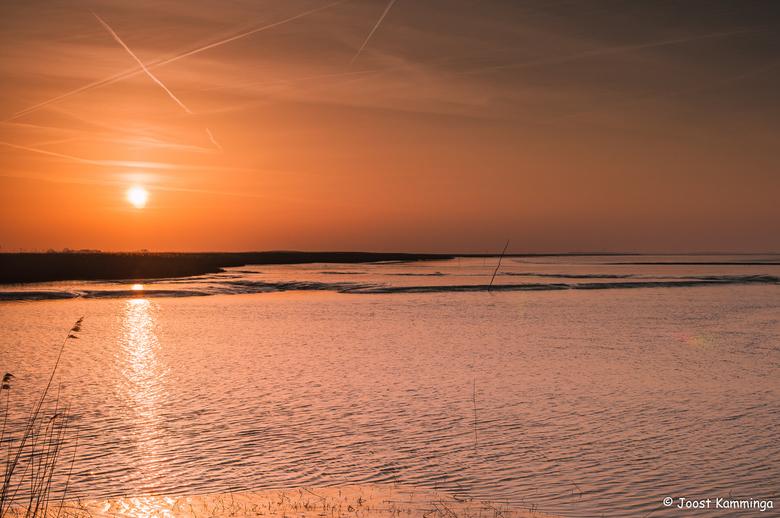 Sunset @ Nieuwe-Statenzijl - Zonsondergang @ Nieuwe-Statenzijl