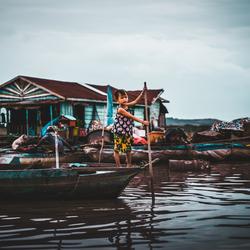 Tonle Sap - Cambodja