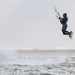 Kitesurfen in de storm (1)