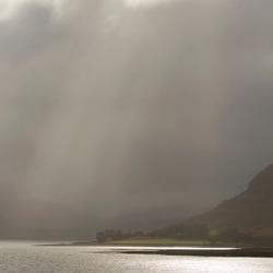 Ochtendnevel, Schotland