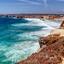 Algarve, Kustlijn bij het fort van Kaap Vincente